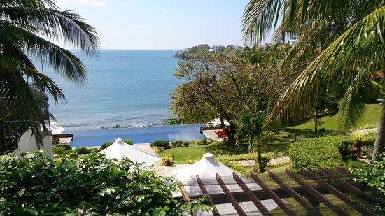 Club Punta Fuego: the view