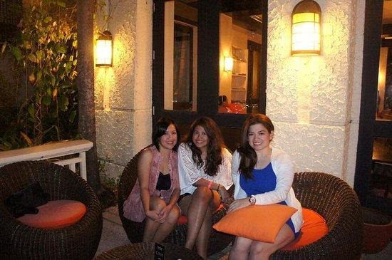 Club Punta Fuego: the bar
