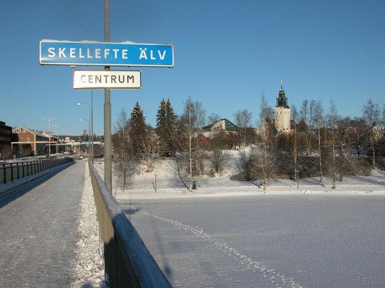 Skellefteå, Suède : Centro ciudad