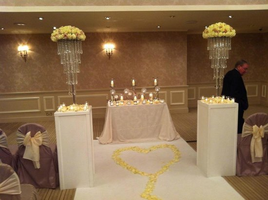 Rowton Hall Hotel: Wedding Ceremony