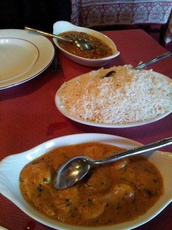 restaurant le palais du maharajah dans montlucon avec cuisine indienne. Black Bedroom Furniture Sets. Home Design Ideas
