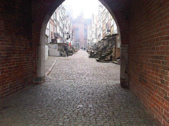 Mariacka Street (ulica Mariacka): archway
