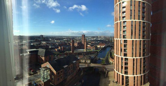 Doubletree by Hilton Hotel Leeds City Centre: Stunning views