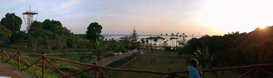 Nirwana Gardens Mayang Sari Beach Resort: View from Makan Makan food hall