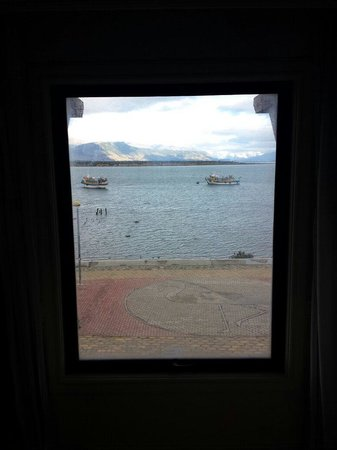 Hotel Costaustralis : Vista desde la habitación