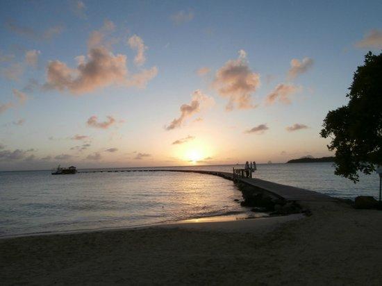 Club Med Les Boucaniers : couché soleil