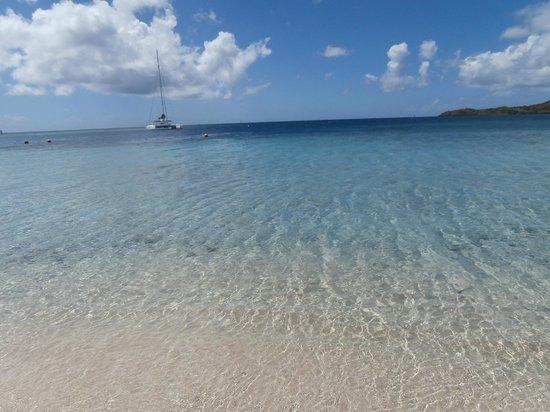 Club Med Les Boucaniers : la plage et ses couleurs splendide