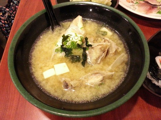 Sakuraya Fish Mart: Tai Head Soup