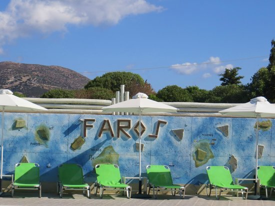 Faros Villa: View from pool