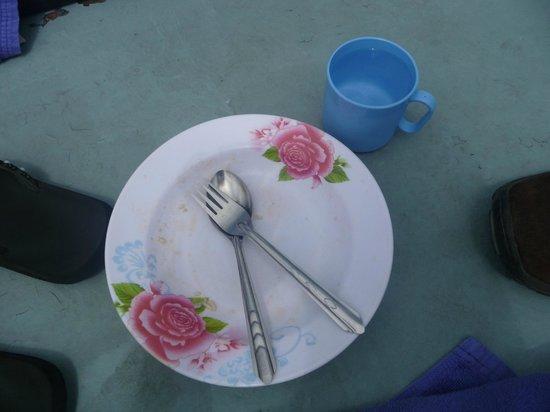 Chantara, Junk Boat: Hier war das LECKER Essen drauf