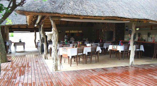Arathusa Safari Lodge : Dining Area