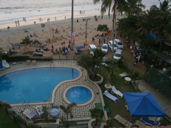 Hindustan Beach Retreat: View from room 404