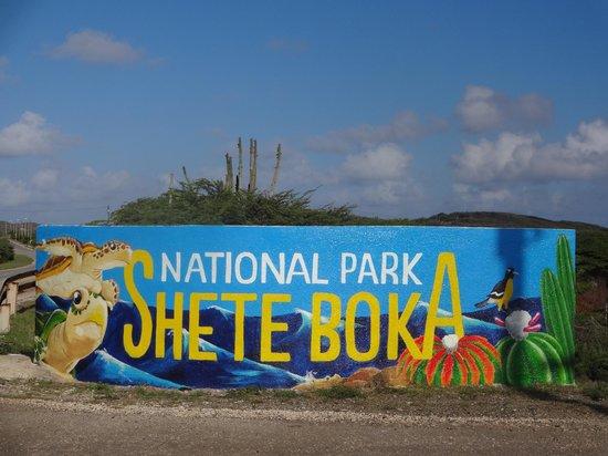 Shete Boka National Park: Entrada