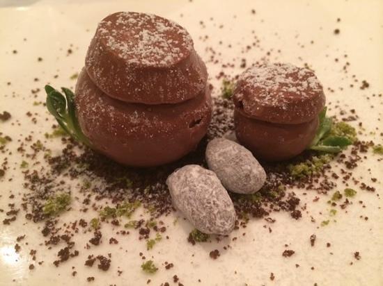 Jungsik: Jang Dok: Manjari chocolate mousse