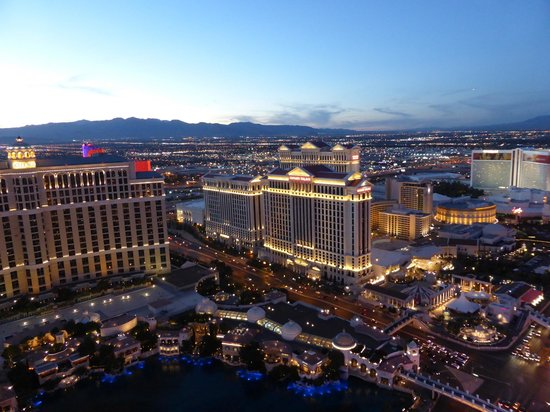 Eiffel Tower Experience at Paris Las Vegas : View from the tower