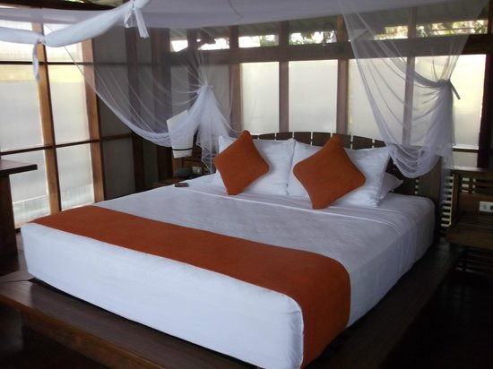 Jicaro Island Ecolodge Granada: wonderful bed