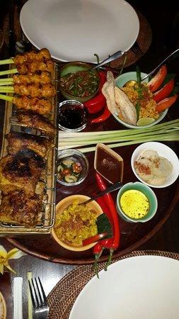 Bumbu Bali: Sate lilit & Grill pork ribs