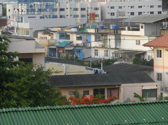Wannara Hotel Hua Hin: Room with a view - not!