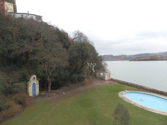 Hotel Portmeirion: View from anchor 1
