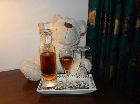 Hotel Portmeirion : Complimentary sherry