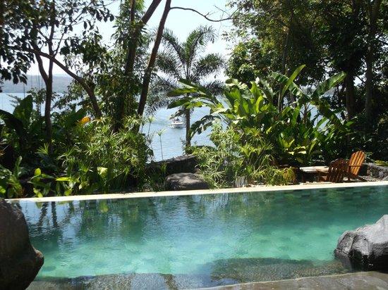 Jicaro Island Ecolodge Granada: view from pool