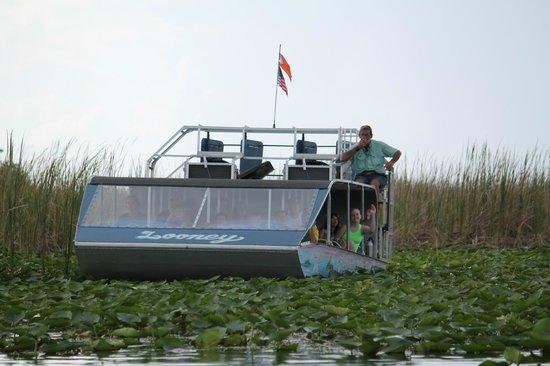 Everglades Holiday Park: our captain