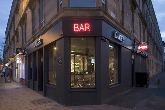 Dukes Bar Glasgow