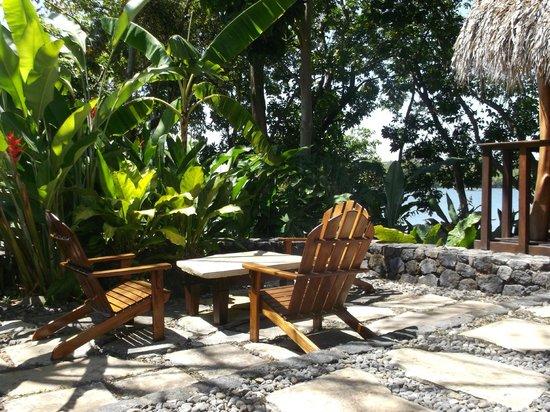 Jicaro Island Ecolodge Granada : grounds