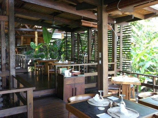 Jicaro Island Ecolodge Granada: restaurant