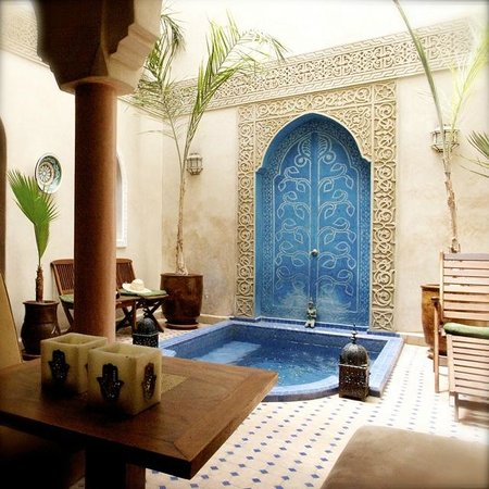 Riad Jonan : outside room