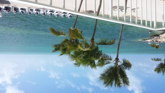 Postcard Inn Beach Resort & Marina at Holiday Isle: view from balcomy room 149