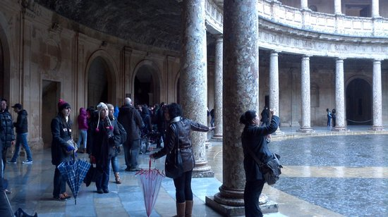 Granavision Excursions: interior palacio