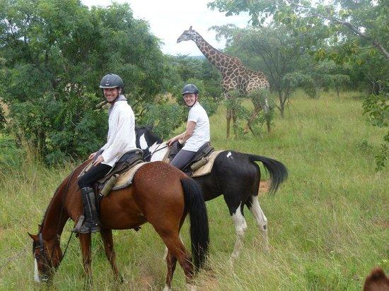 Horizon Horseback Adventures Lodge: Happy couple