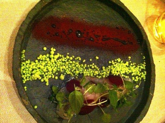 Kiin Kiin : sashimi with wasabe