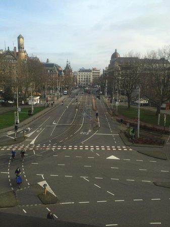 Amsterdam Marriott Hotel : Het uitzicht