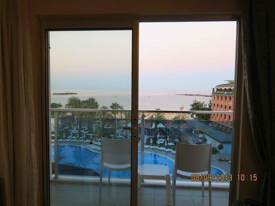 Annabella Diamond Spa & Hotel: Вид из номера
