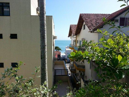 Bombinhas Praia Apart Hotel : Vista desde el balcón