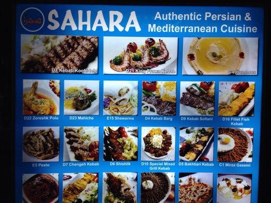 sahara ,, persian restaurant,,