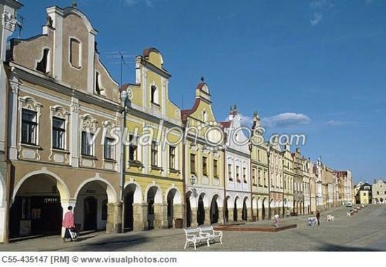 Historic Centre of Telc: The Main Square - Telc, South Moravia