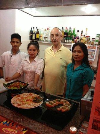 Swiss Italian Restaurant Cebu: Team Swiss Italian Restaurant Cordova, Mactan, Cebu