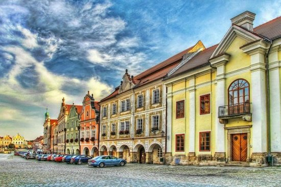 Historic Centre of Telc: Telc - the painting