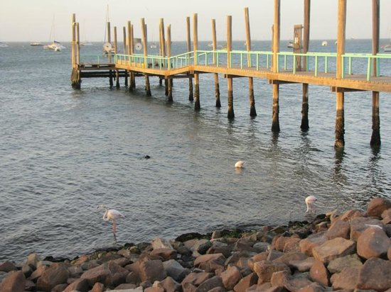 Walvis Bay Waterfront: A distant view