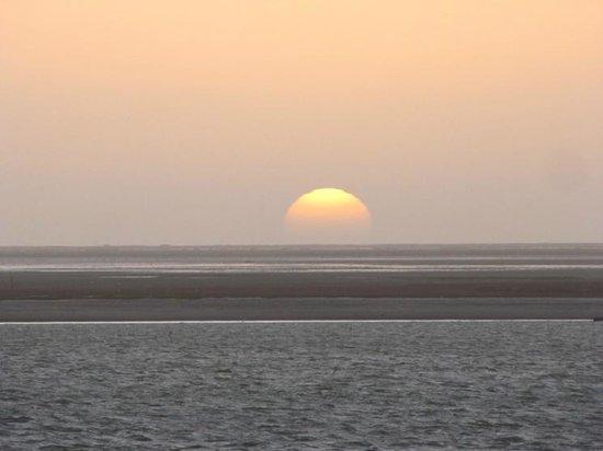 Walvis Bay Waterfront: Sunset at Walvis Bay