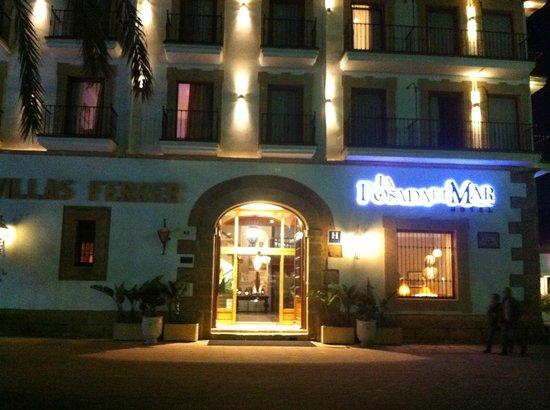 La Posada del Mar: Hotel Entrance