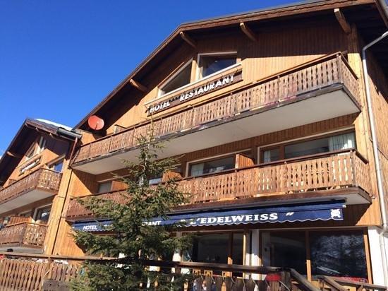 Hotel l'Edelweiss: L'hôtel Edelweiss