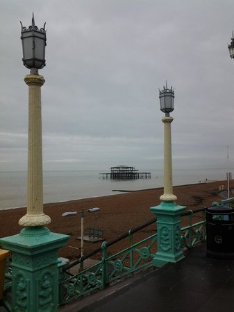 The Waterfront Hotel: View from room of West Pier