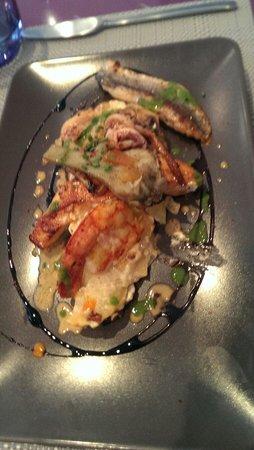 Carpe Diem : Panaché de poisson cuisiné selon le chef
