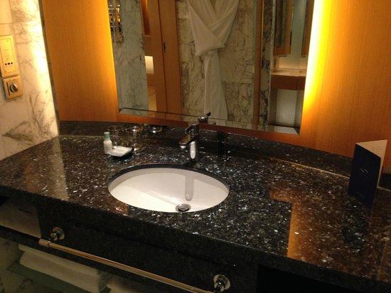 Grand Hyatt Singapore : Vanity counter