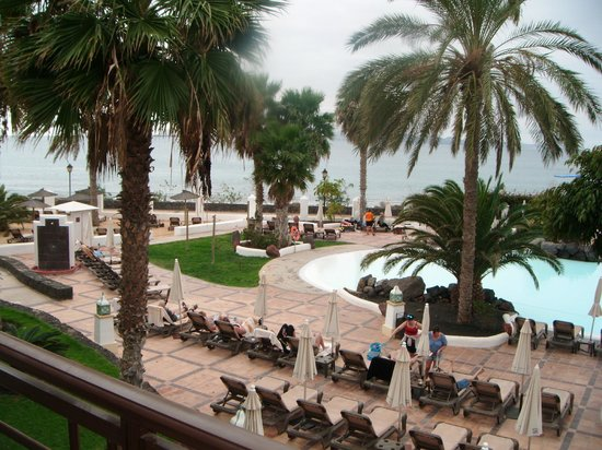 Gran Castillo Tagoro Family & Fun: view from hotel balcony