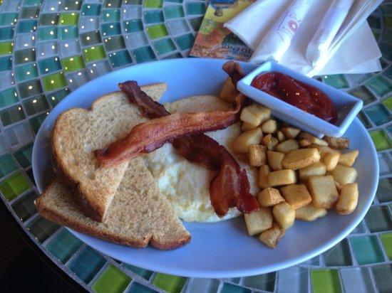 rachels kitchen two eggs bacon potatoes toast - Rachels Kitchen